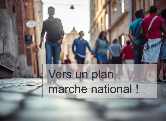 1ères assises de la marche en ville : le collectif Place aux piétons demande un plan marche national