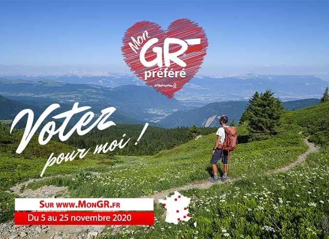 Quel sera le GR® préféré des Français en 2021 ?