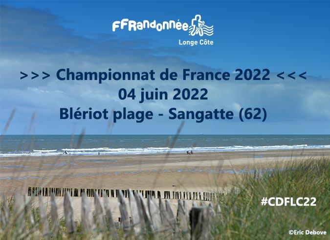 LesChampionnats de France de Longe-Côte 2022 se dérouleront à Sangatte
