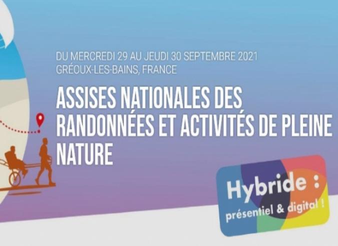 Assises nationales des randonnées et activités de pleine nature 2021