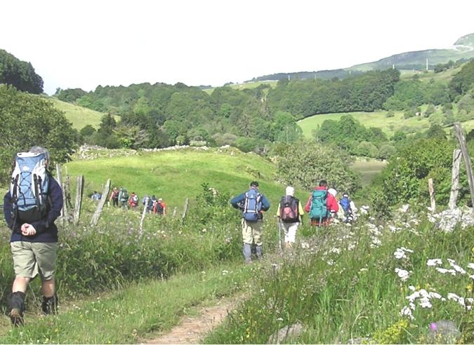 Le GR® 89 - Chemin de Montaigne prolongé jusqu'à Bordeaux