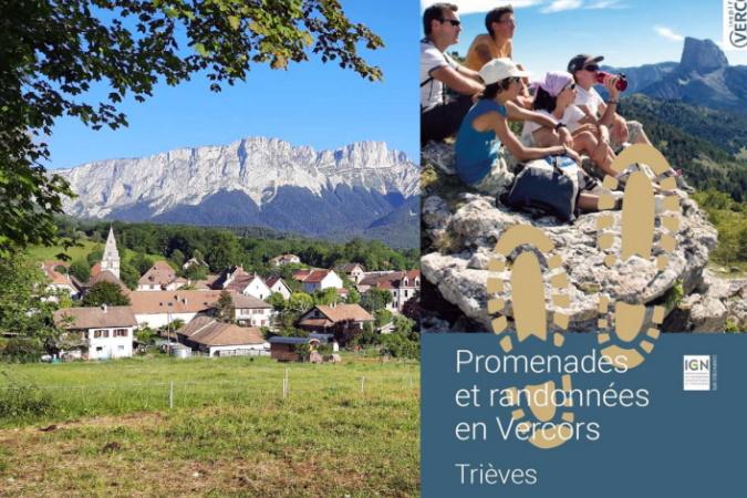 Une nouvelle carte de randonnée pour parcourir le Trièves (Isère)