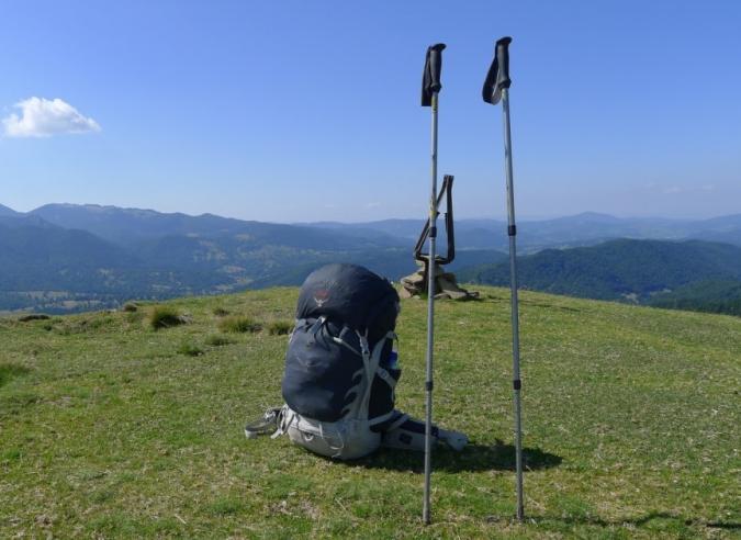 Test des bâtons de randonnée Guidetti Flash Alu Carbon