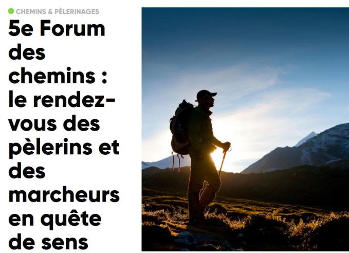 5ème Forum des chemins du 9 au 11 avril 2021