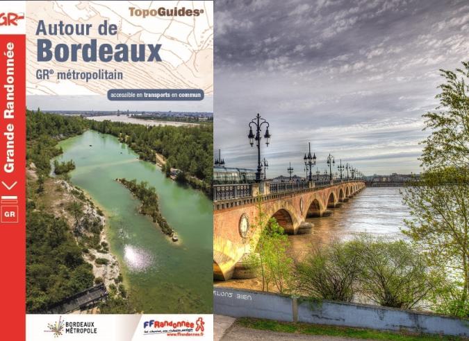 Entre ville et vignes sur le GR® Bordeaux Métropole avec TF1