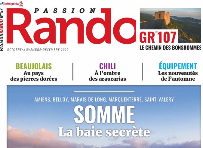 Le GR® 107 ou Chemin des Bonshommes avec Passion Rando Magazine