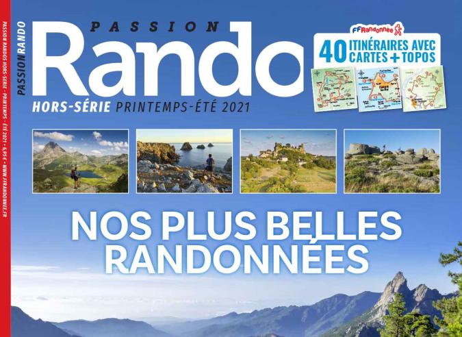 « Nos plus belles randonnés » le hors-série de Passion Rando