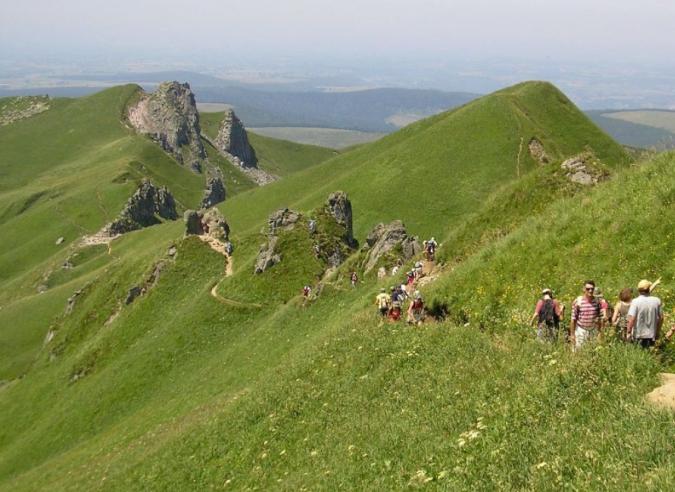 Le Massif du Sancy, paradis de la randonnée du Puy-de-Dôme