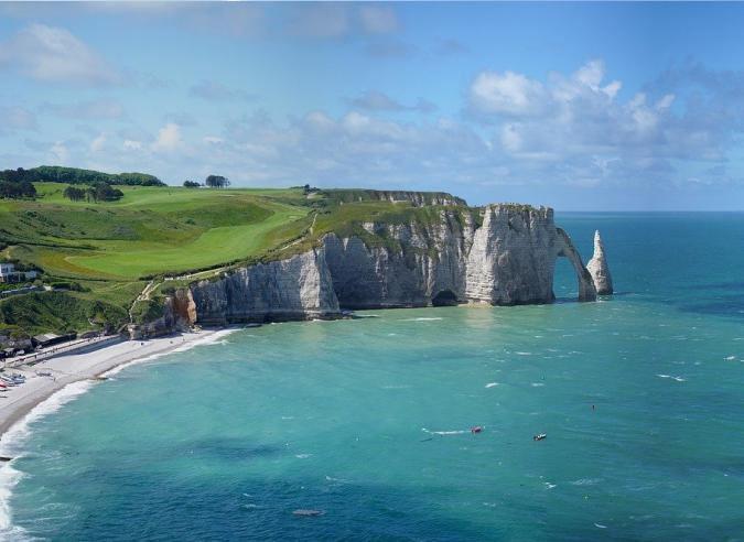 Le sentier littoral normand GR® 21 menacé par l'érosion
