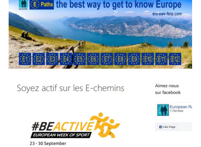 Semaine européenne du sport : promouvoir les itinéraires européens de randonnée