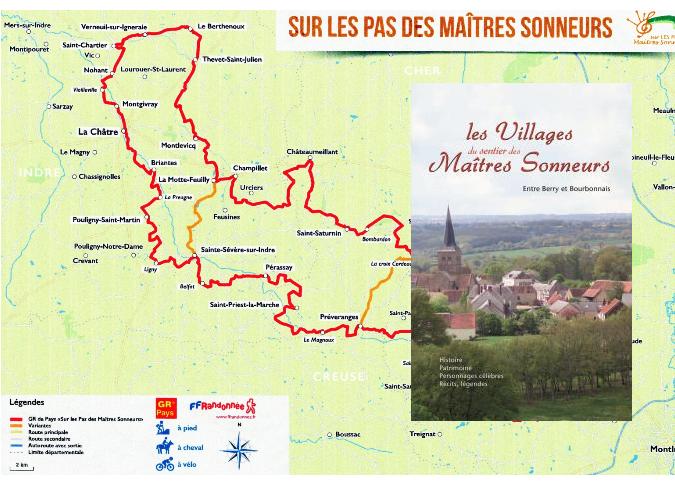 Les villages du sentier des Maîtres Sonneurs