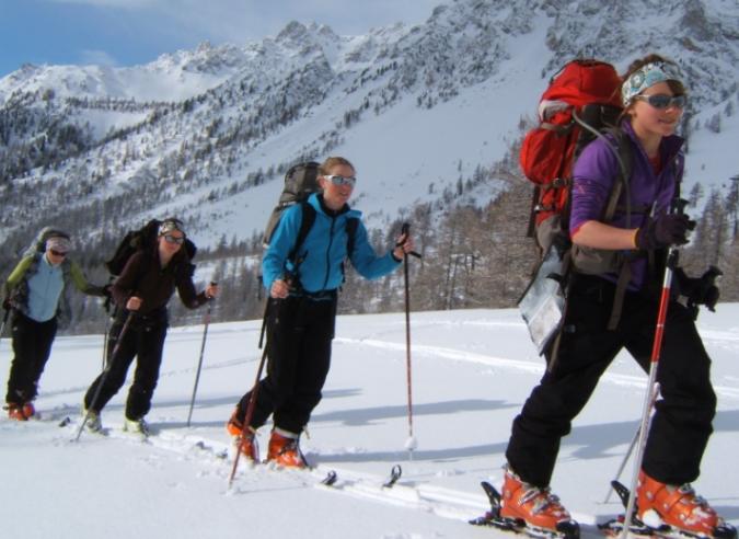 Bien pratiquer le ski de randonnée dans les Alpes Maritimes
