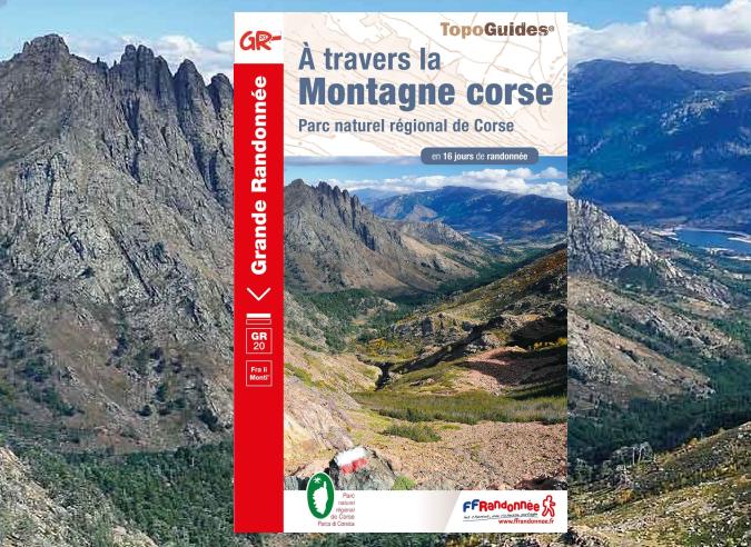 Topo GR20 A travers la Montagne Corse