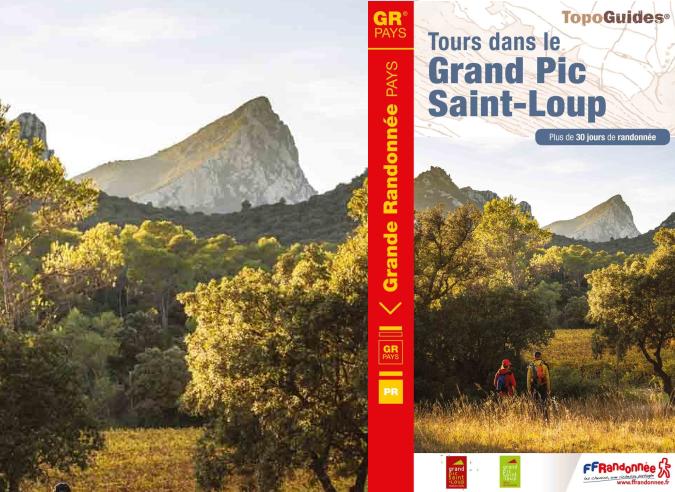 Idées rando sur  le GRP® du Grand Pic Saint-Loup dans l'Hérault