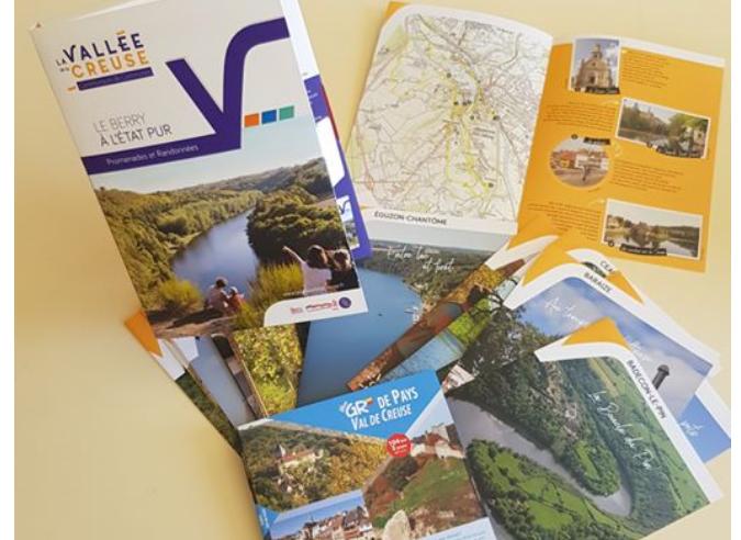 Découvrir la Vallée de la Creuse à pied