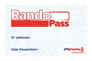 Carte RandoPass FFRandonnée