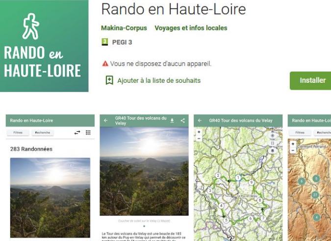 Trouver une randonnée en quelques clics en Haute Loire