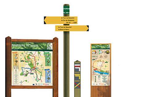 Le balisage et la signalisation des itinéraires de randonnée pédestre