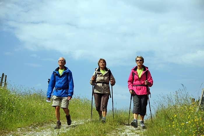 La marche et la randonnée sont bonnes pour le coeur - crédit : N.Vincent- FFRandonnée